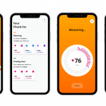 Screenshots of app