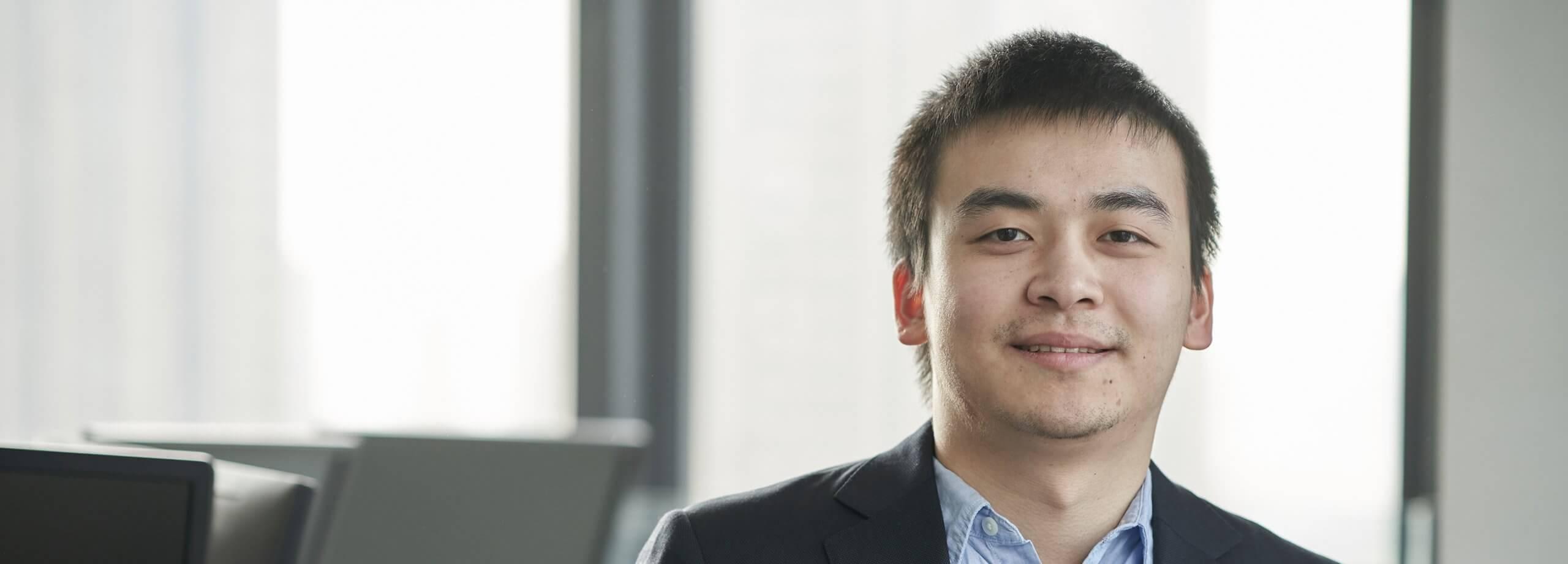 Portrait of Chao Jiang