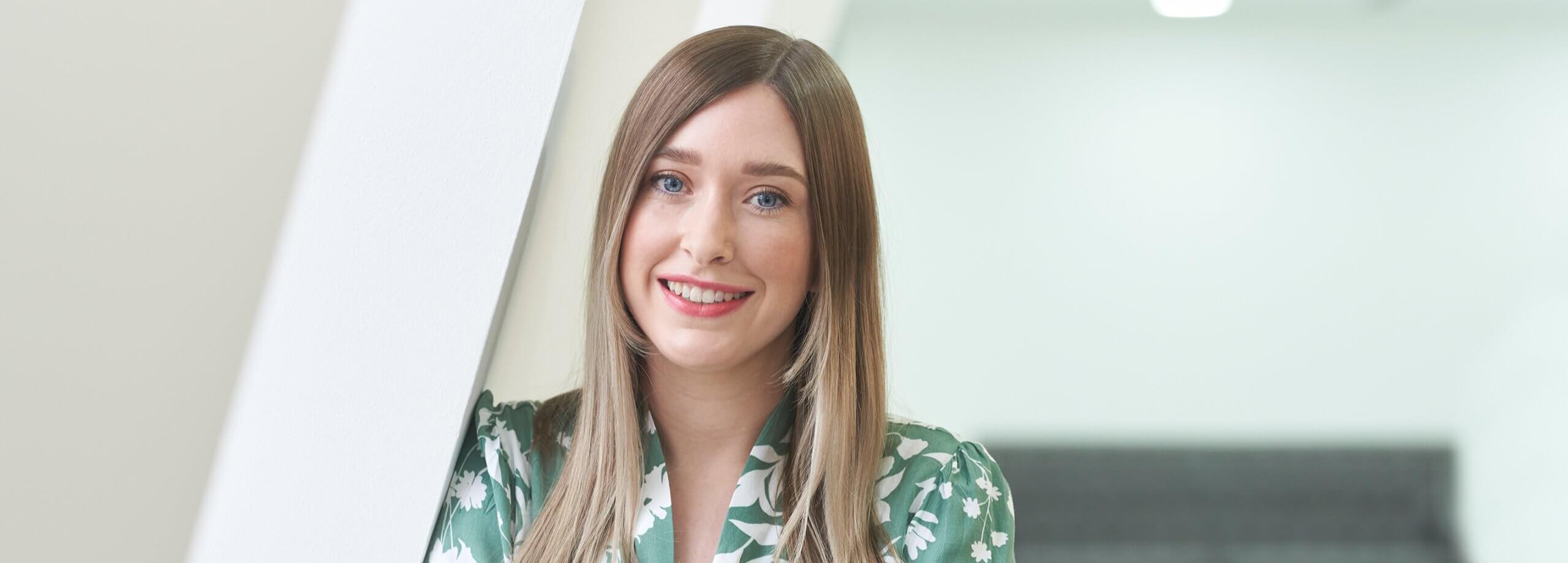 Portrait of Sophie Cookson
