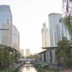 City setting in Hangzhou