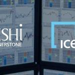 Trading screens with Zishi cornerstone and ice logos