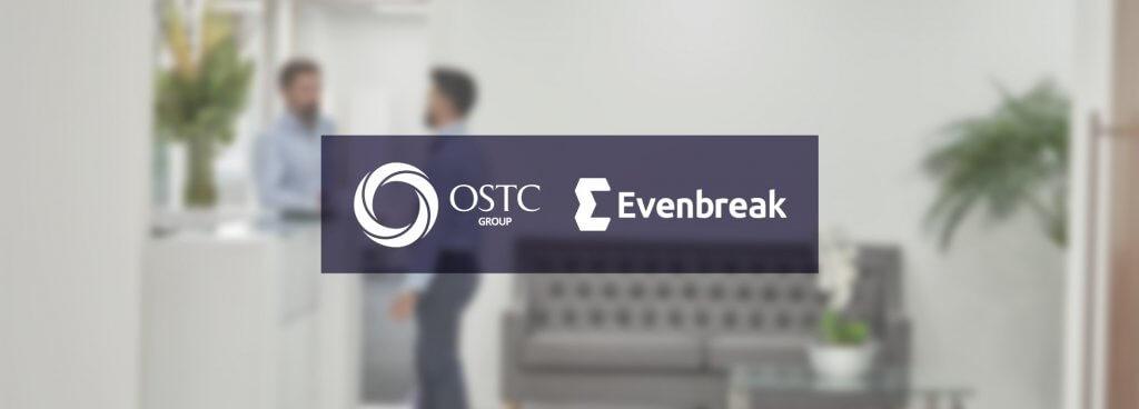 OSTC and Evenbreak logos