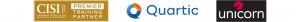 CISI, Quartic and unicorn logos